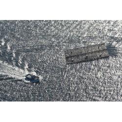 Mar de plata. Batea y barco